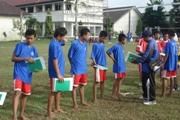 Tim bola voli SMP Taman Dewasa Kudus